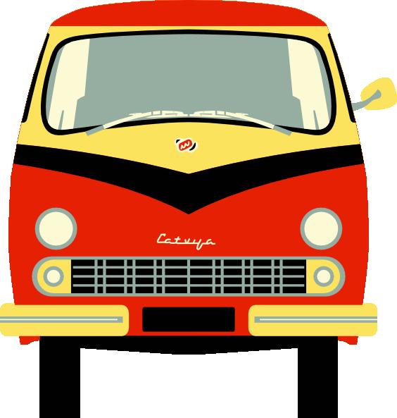 564x593 Minivan Clip Art