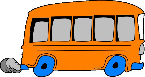 600x319 Orange School Bus Clip Art