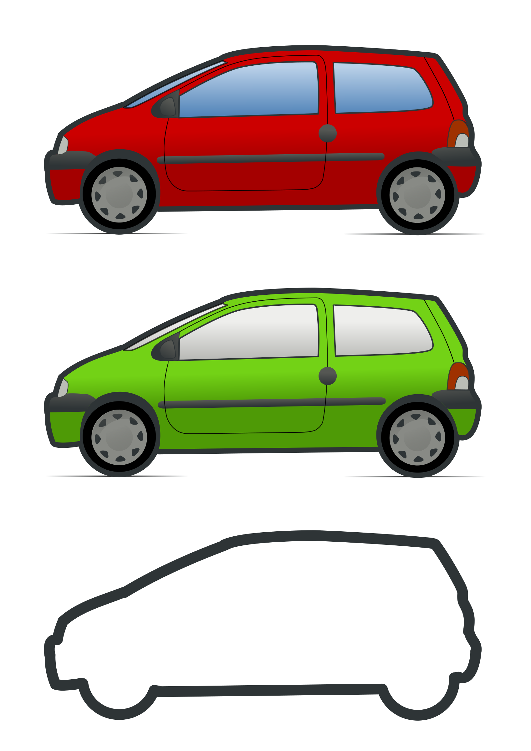 1697x2400 Renault Clipart
