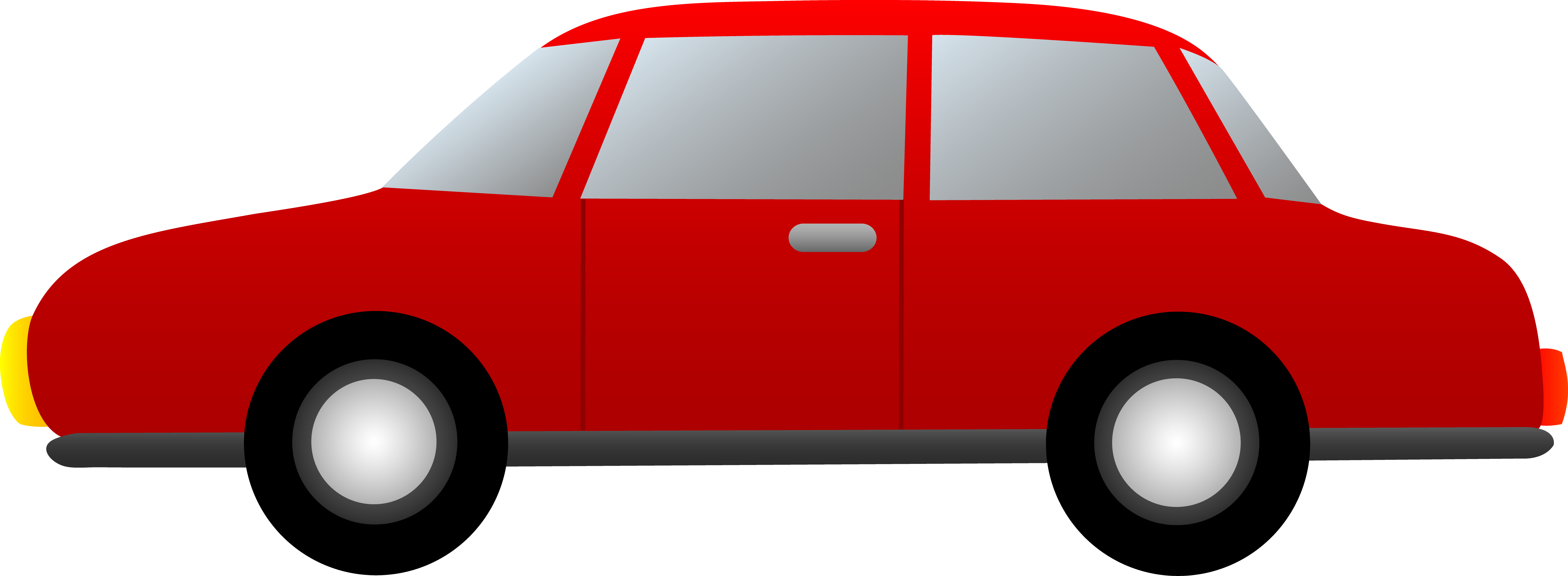 7122x2615 Simple Red Car