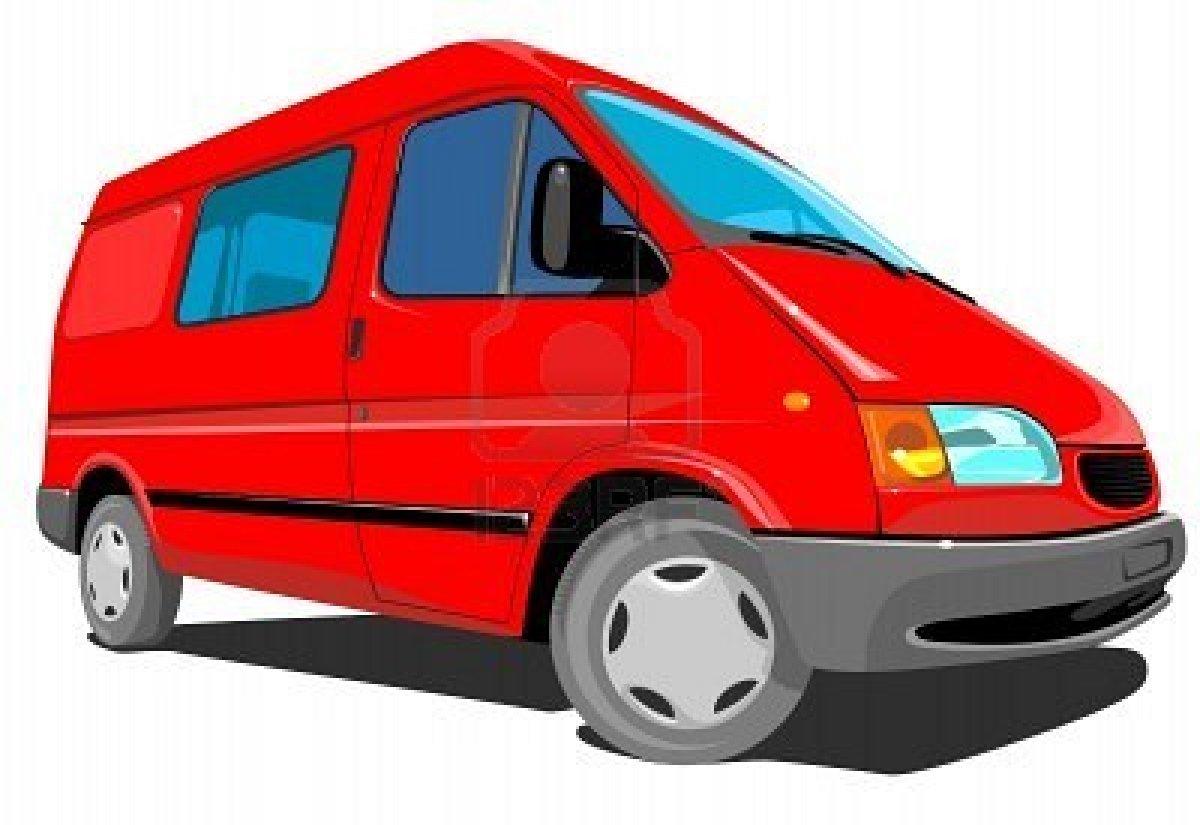 1200x825 Vans Clipart Red Van