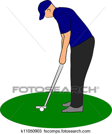 391x470 Golfer Putting Clip Art Vector Graphics. 1,642 Golfer Putting Eps