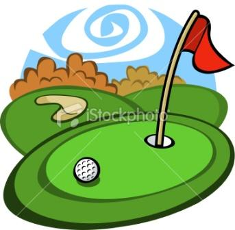 343x336 Ladies Golf Clipart
