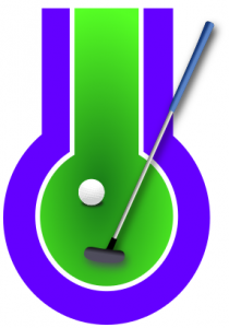 210x300 Miniature Golf Symbol Blue Clip Art Download