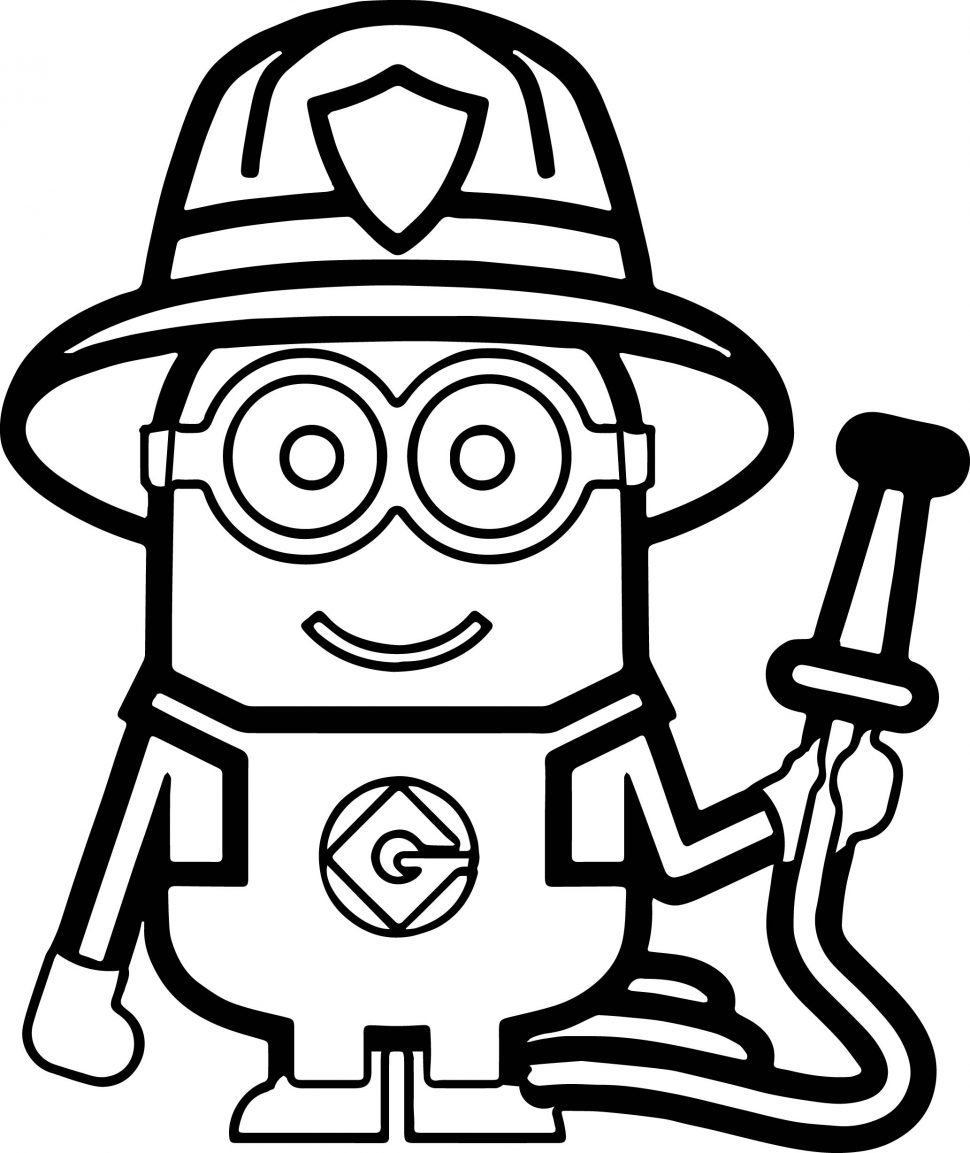 970x1153 Coloring Pages Minion Text Minions Backyard Bash