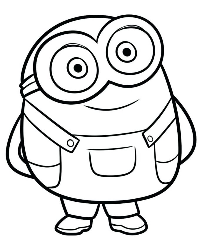 687x847 Minion Coloring Book Pages Tags Outstanding Minion Coloring Book