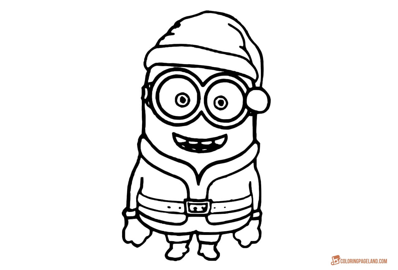1280x870 Minion Coloring Pages For Kids