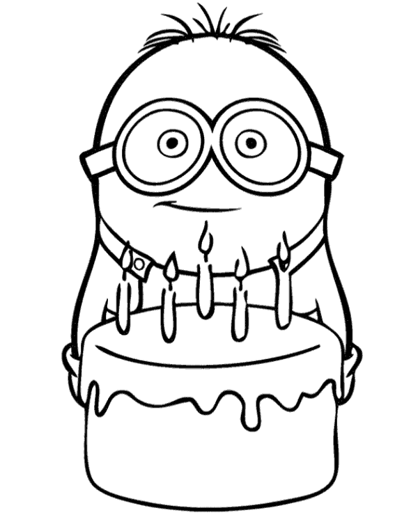 600x740 Minions Coloring Pages,book For Free To Print, Gru, Bob, Stuart