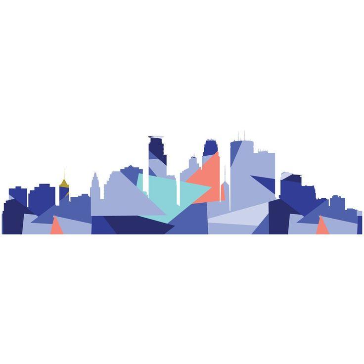 736x736 Graphics For Minneapolis Skyline Graphics