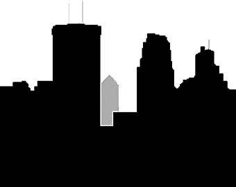 340x270 Minneapolis Skyline Etsy