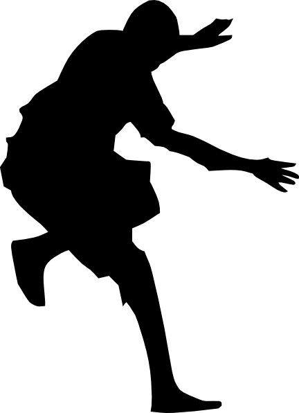 432x596 Silhouette Of Person