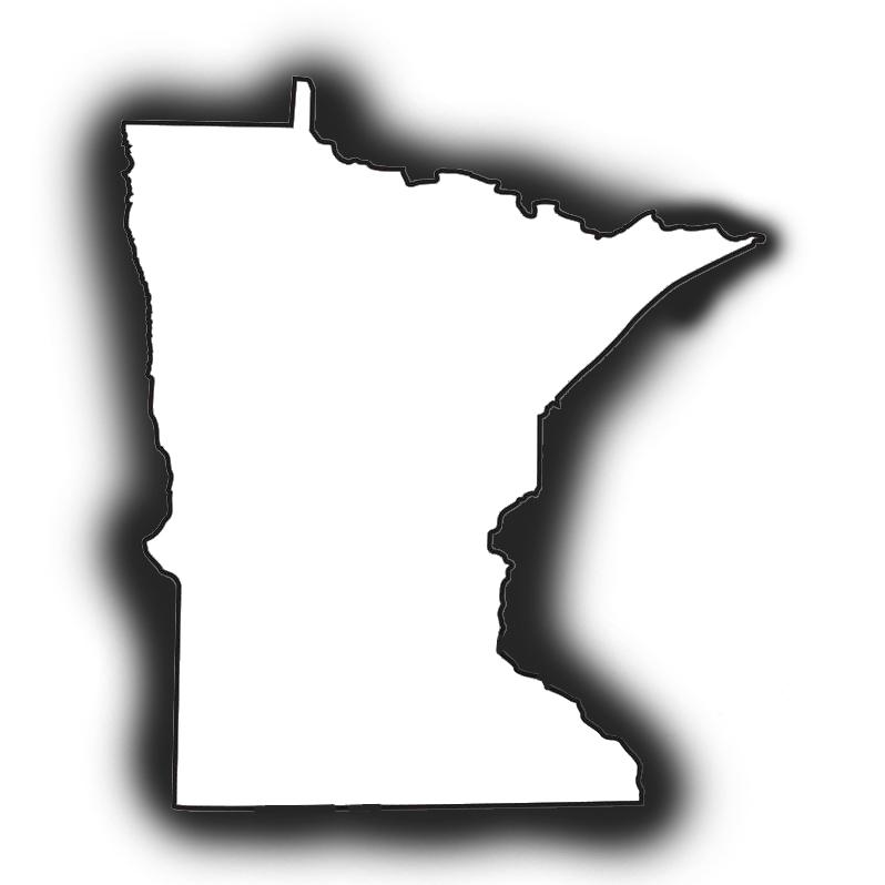 798x798 Minnesota Outline Clip Art