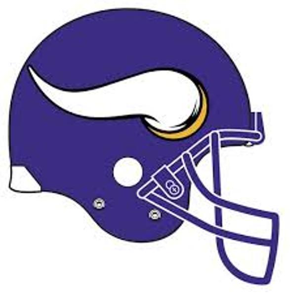 587x600 Minnesota Vikings Logo Clip Art