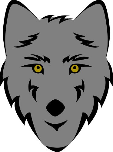 373x500 Top 82 Wolf Clip Art