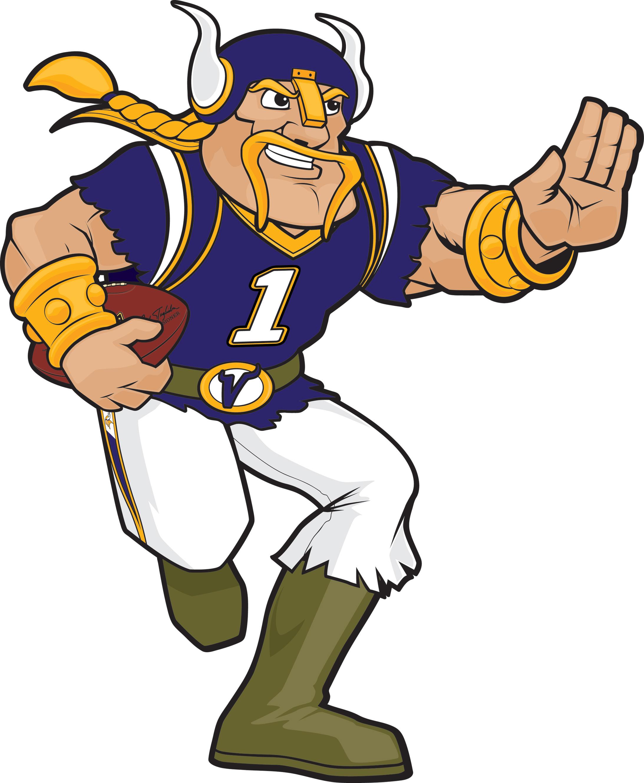 2186x2660 Football Minnesota Vikings Clipart