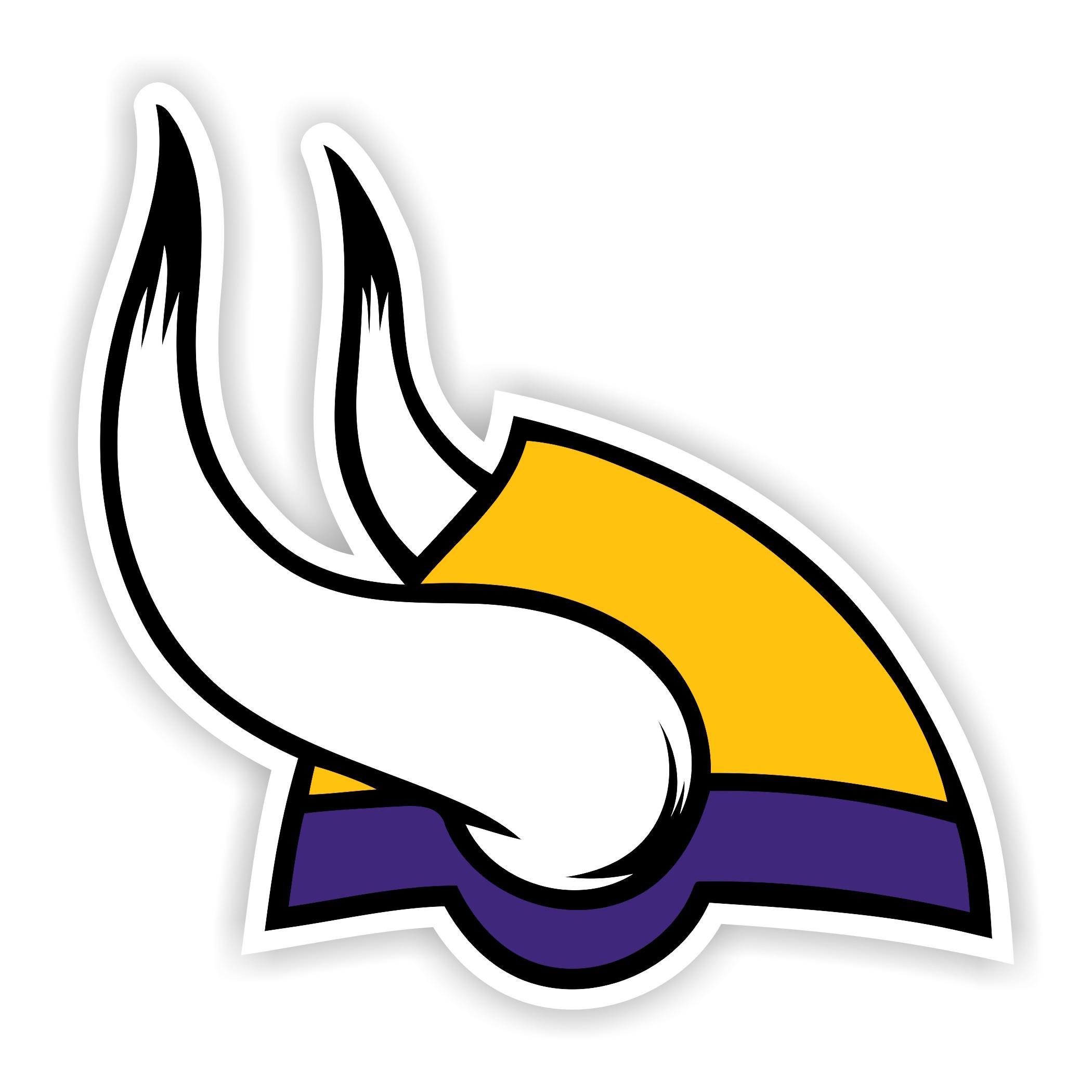 2100x2100 Minnesota Vikings Die Cut Decal