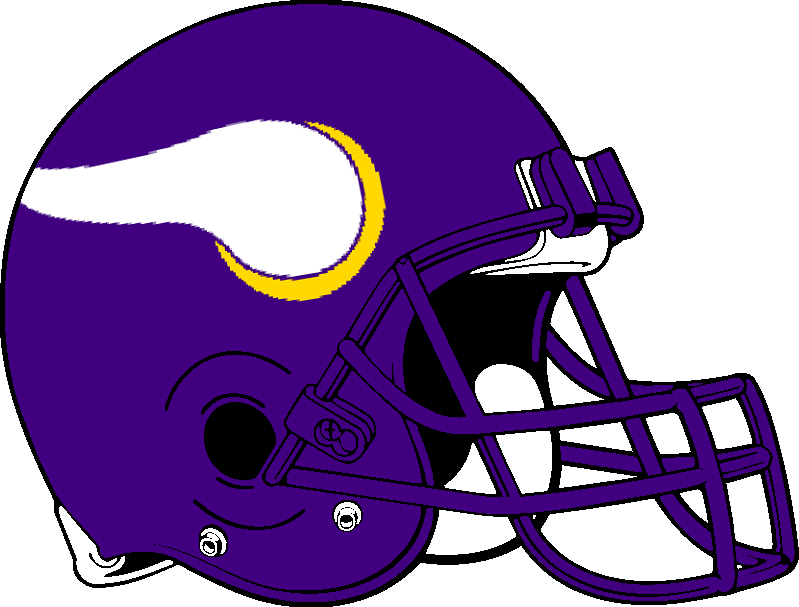 799x607 Minnesota Vikings Helmet 1985 2005 By Chenglor55