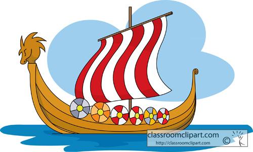 500x302 Vikings Vikings Ship Clipart