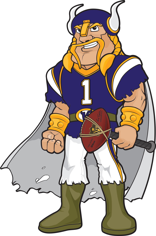 1753x2660 Viktor The Viking Invades Nfl Minnesota Vikings Draft Kids