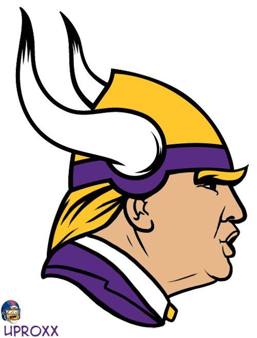 500x658 The Ten Best Donald Trump Inspired Nfl Logos