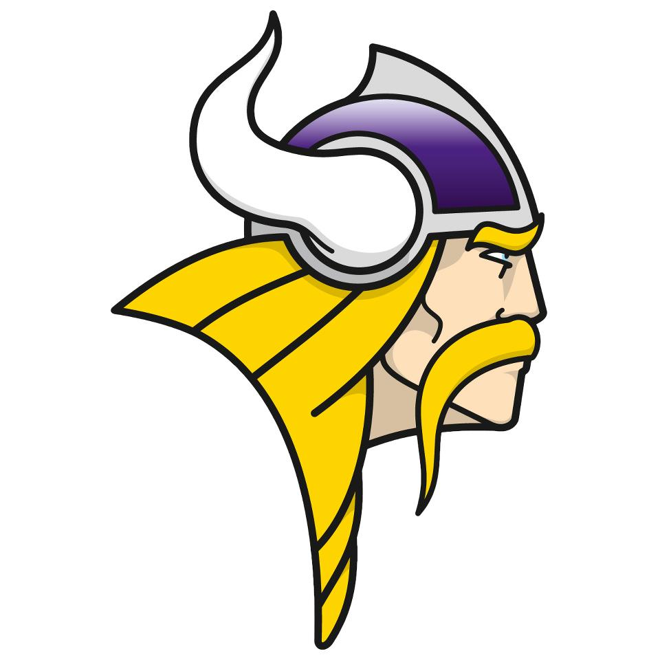 960x960 Vikings Football Clipart
