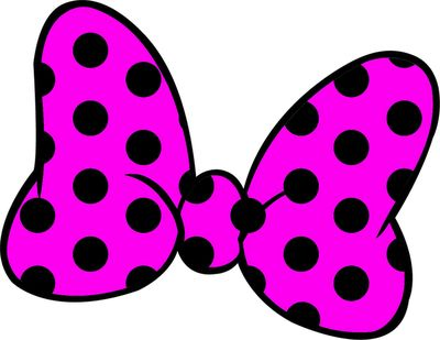 400x309 Minnie Mouse Bow Clipart