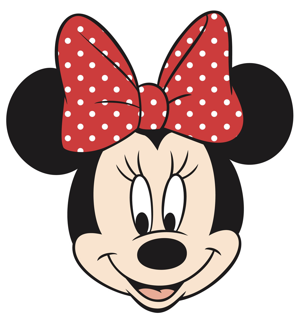 1000x1078 Minnie Mouse Face Printable Disneyland Minnie
