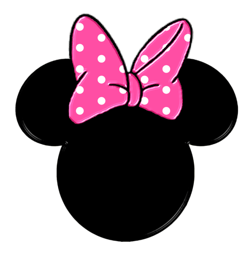 830x840 Free Minnie Mouse Clipart