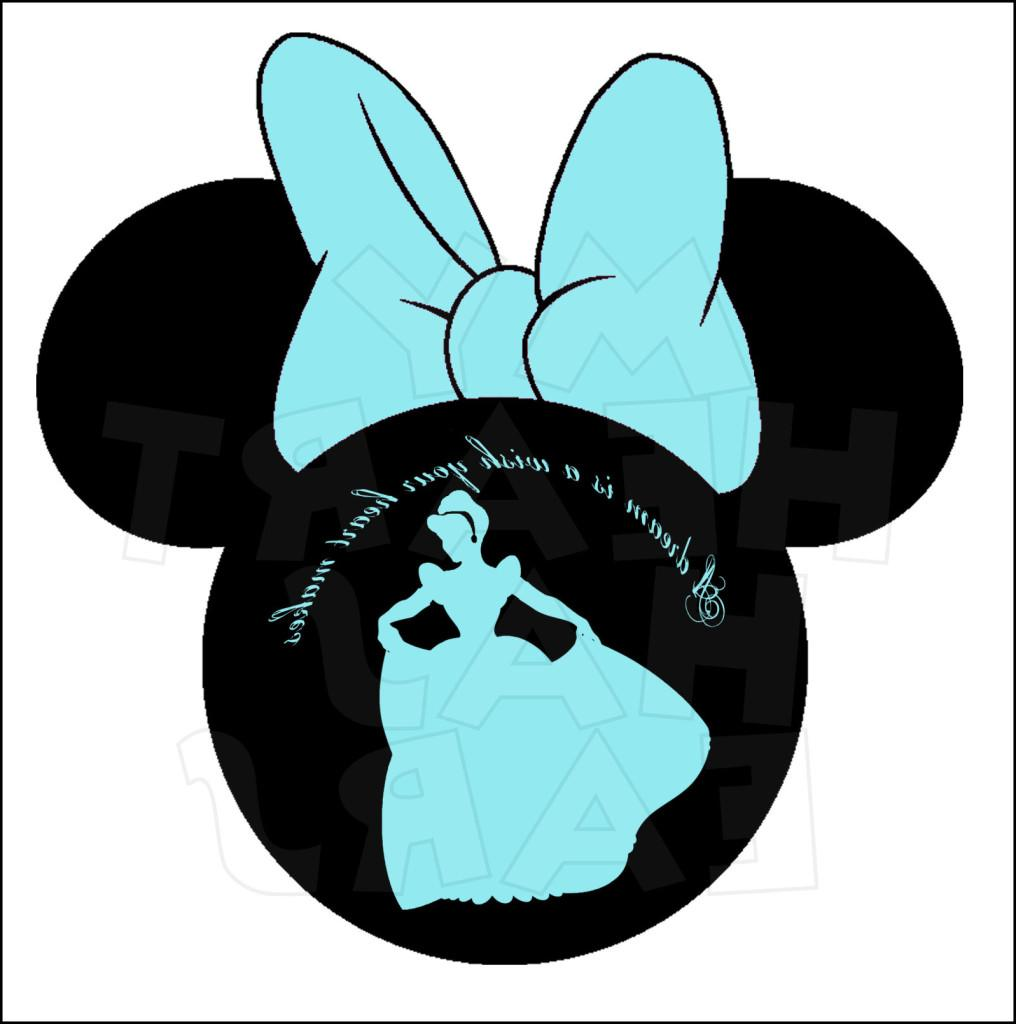 1016x1024 Hd Minnie Mouse Ear Clip Art Cindyminnieproof File Free