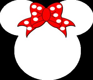 298x255 Minnie Ears Clipart
