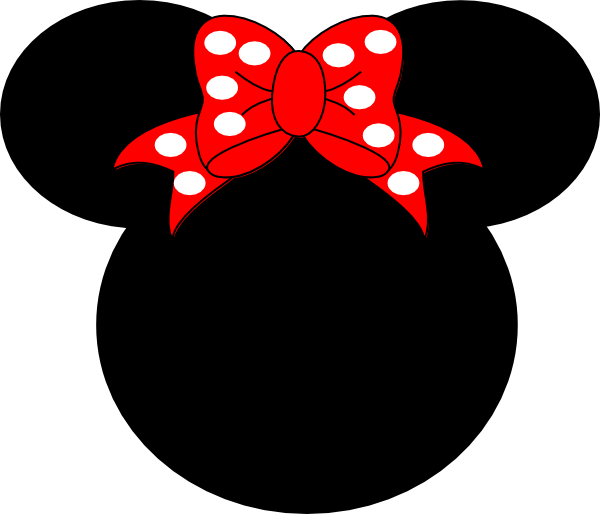 600x514 Minnie Mouse Clip Art
