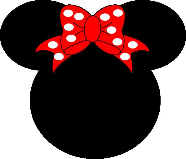 600x514 Minnie Mouse Clip Art