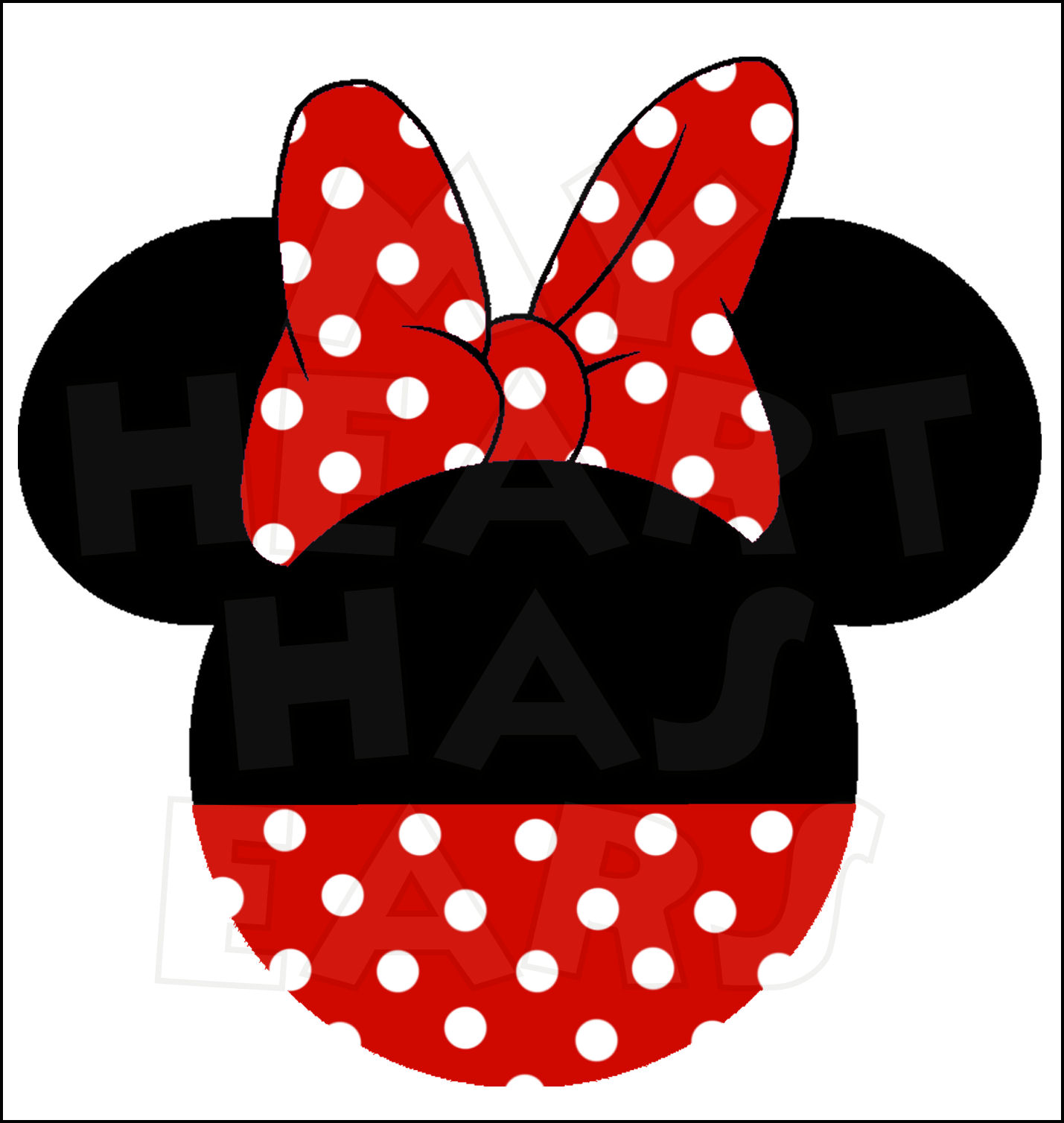 1429x1508 Minnie Mouse Ears Clip Art