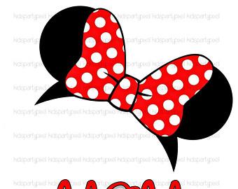 340x270 Minnie Mouse Ears Clip Art