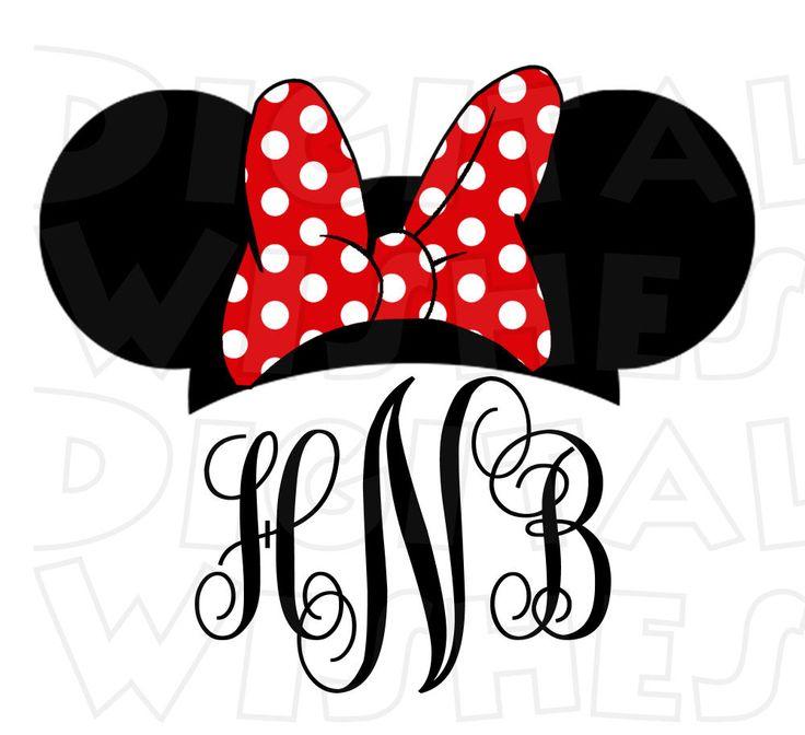 736x672 Minnie Mouse Ears Clip Art