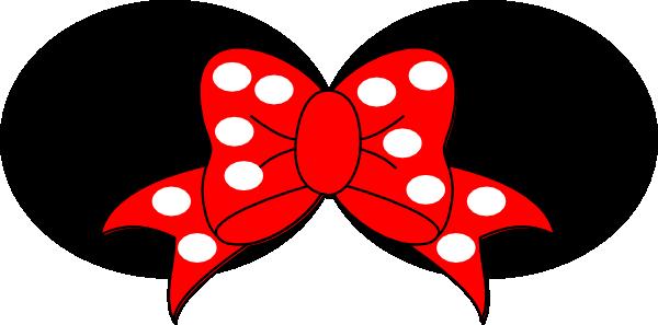 600x297 Minnie Mouse White Clip Art