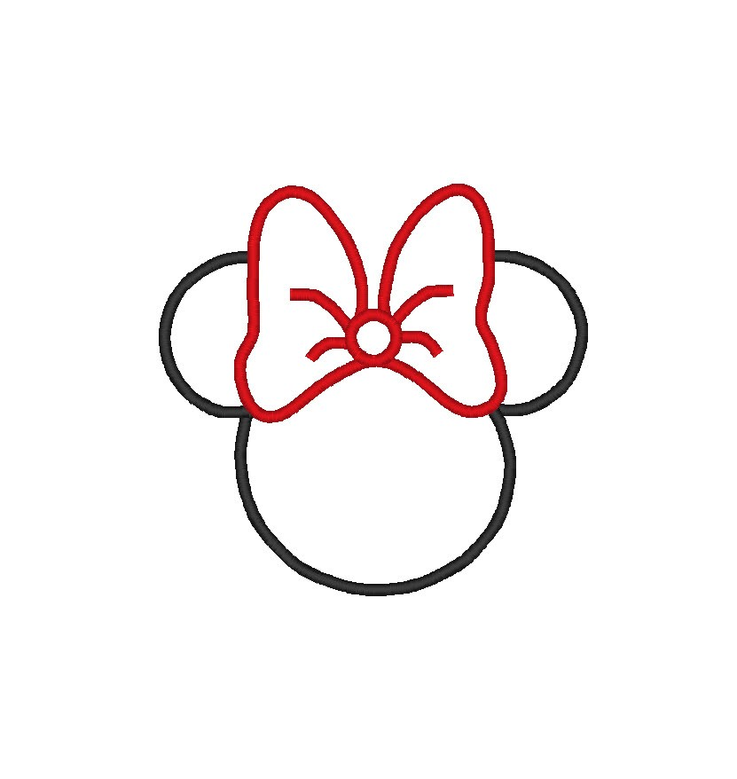 831x878 Minnie Mouse Bow Mickey Mouse Bow Clipart 4