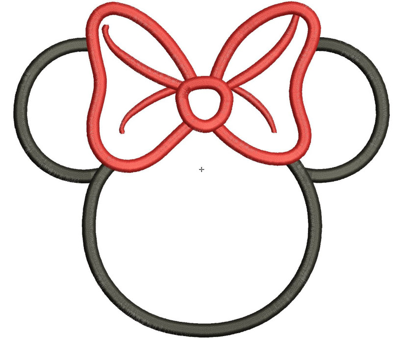 830x692 Minnie Mouse Head 3 Clip Art
