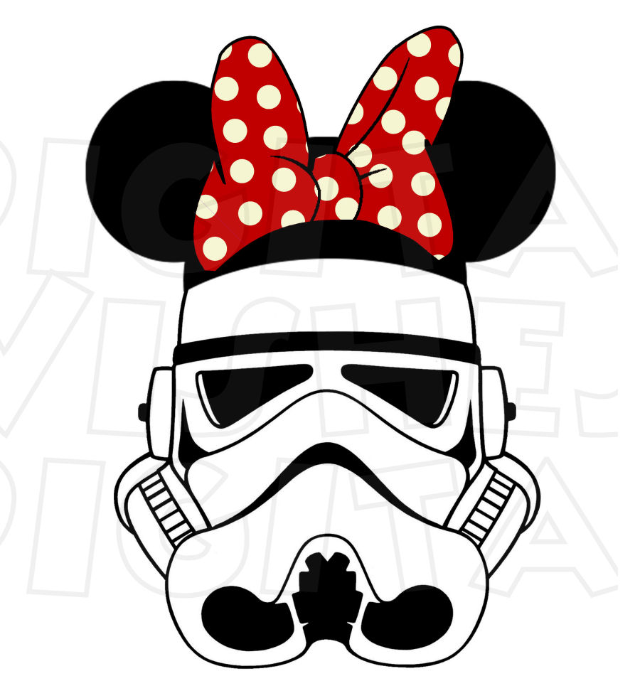 900x958 Star Wars Clipart Minnie