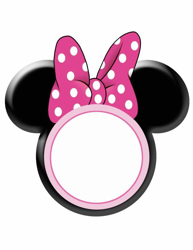 672x870 Frame Clipart Minnie Mouse