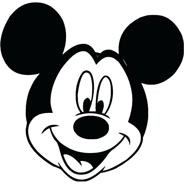 600x600 Mickey Printable Mickey Mouse Clip Art Silhouette Free Images 4
