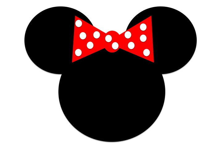 720x540 Minnie Mouse Head Outline Clipart