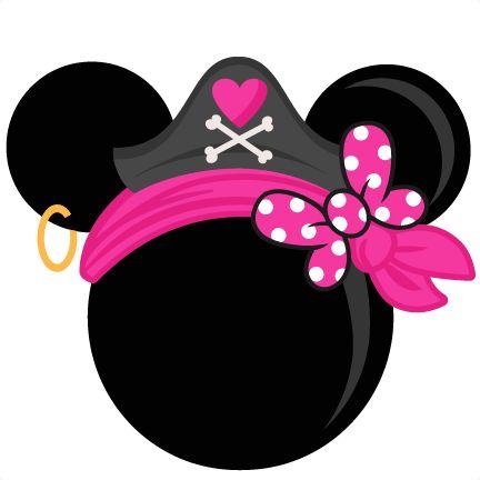 432x432 Pirate Clipart Minnie