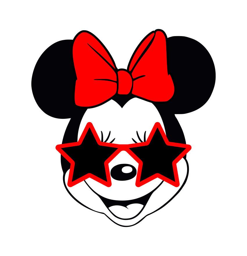 850x879 Sunglasses Clipart Minnie Mouse