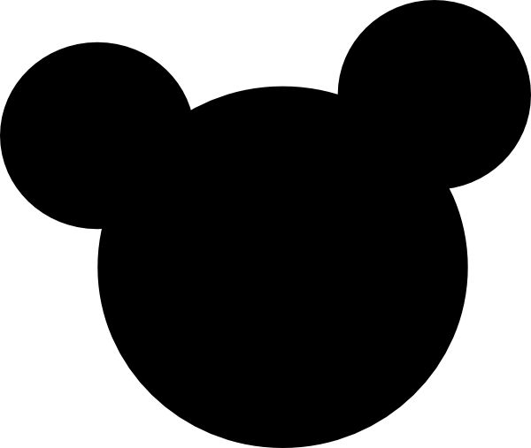 600x507 Graphics For Minnie Mouse Head Outline Graphics