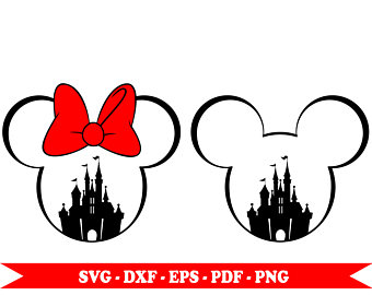 340x270 Mickey Outline Etsy