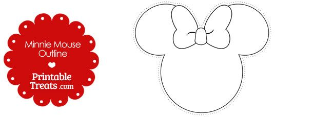 photo about Minnie Mouse Silhouette Printable named Minnie Intellect Determine Free of charge obtain most straightforward Minnie Brain Define