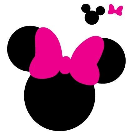 430x430 Best Mickey Mouse Silhouette Ideas Minnie Mouse