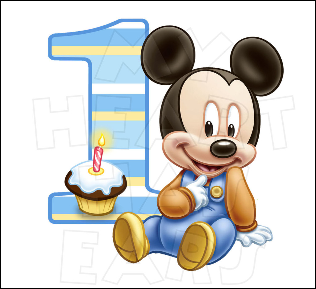 1024x935 Best Mickey Mouse Birthday Clipart