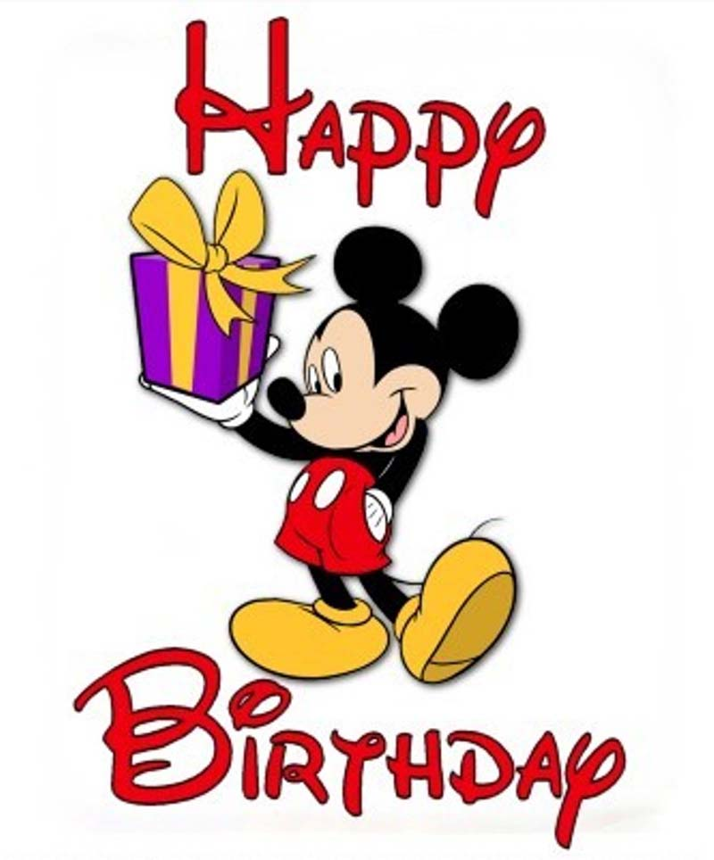 800x964 Mickey Mouse Clipart Birthday Cake